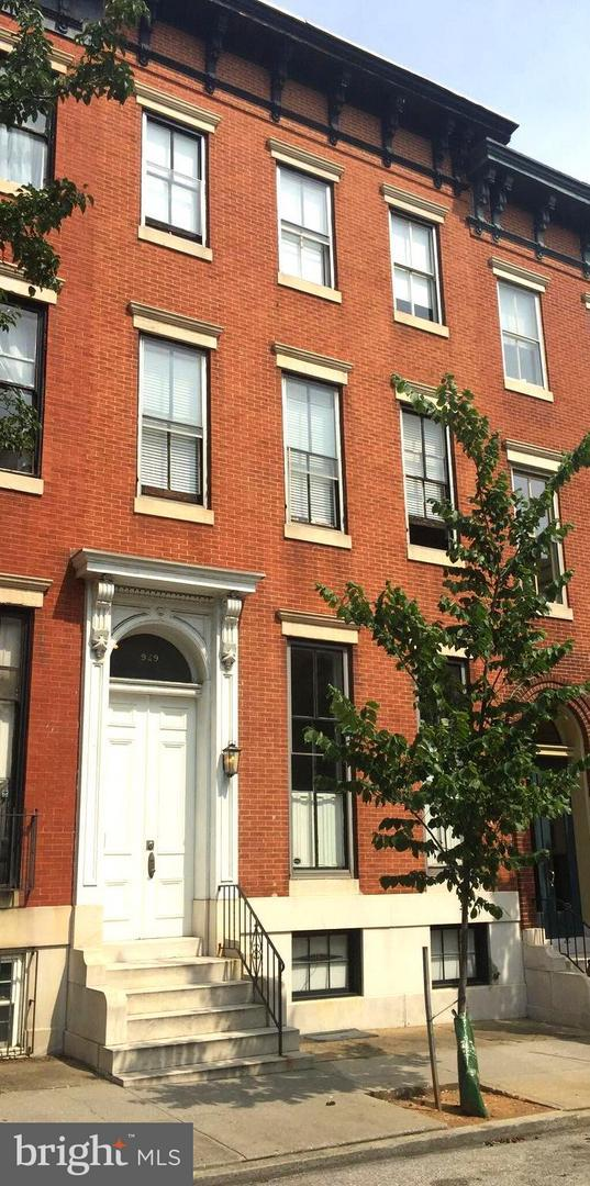 929 Saint Paul Street, BALTIMORE, MD 21202 (#1010015026) :: Advance Realty Bel Air, Inc