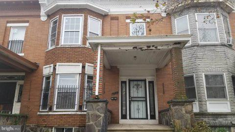 2309 W Lanvale Street, BALTIMORE, MD 21216 (#MDBA102084) :: RE/MAX Plus