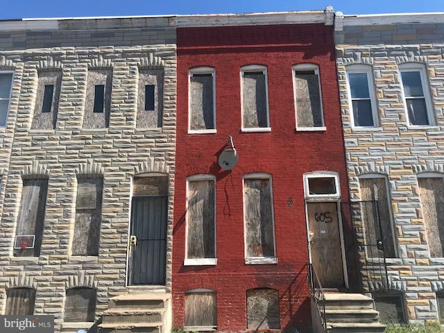 605 S Bentalou Street, BALTIMORE, MD 21223 (#MDBA102240) :: RE/MAX Plus