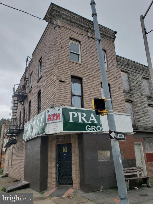 1801 W Pratt Street, BALTIMORE, MD 21223 (#MDBA102296) :: AJ Team Realty