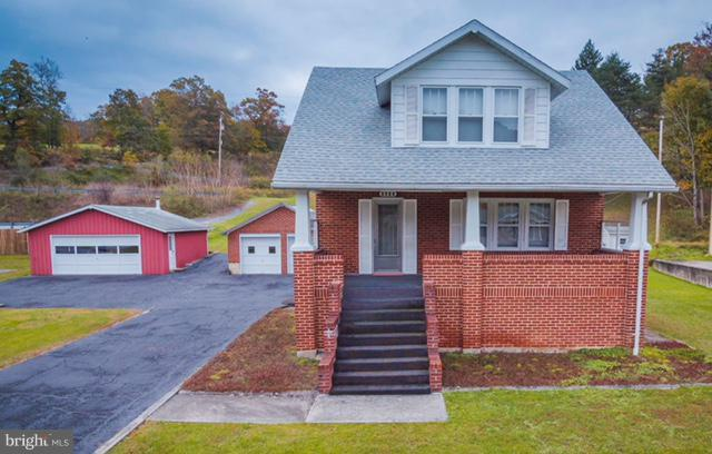 1833 Route 522, BERKELEY SPRINGS, WV 25411 (#WVMO100066) :: Hill Crest Realty