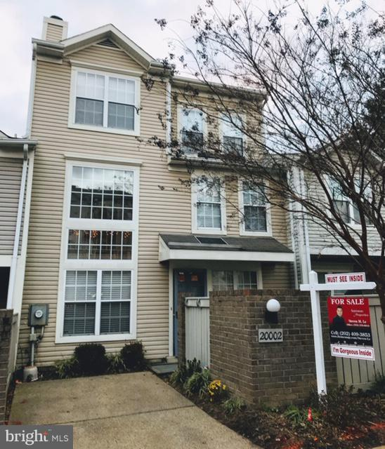 20002 Galesburg Way, GAITHERSBURG, MD 20879 (#MDMC383454) :: Advance Realty Bel Air, Inc