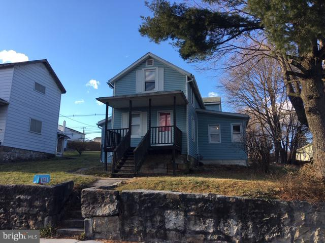 109 Maple Street, FROSTBURG, MD 21532 (#MDAL119264) :: Wes Peters Group Of Keller Williams Realty Centre