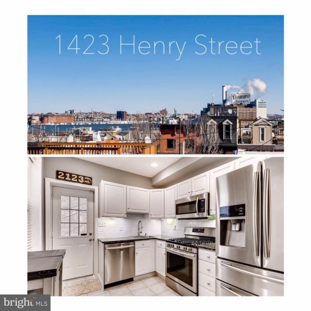 1423 Henry Street, BALTIMORE, MD 21230 (#MDBA305620) :: ExecuHome Realty