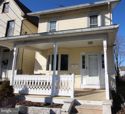 22 S 3RD Street, QUAKERTOWN, PA 18951 (#PABU308734) :: Keller Williams Realty - Matt Fetick Team
