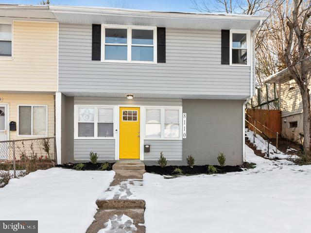 8110 Allendale Drive, LANDOVER, MD 20785 (#MDPG378700) :: The Gus Anthony Team