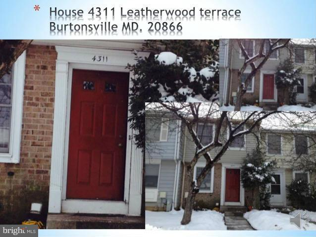 4311 Leatherwood Terrace, BURTONSVILLE, MD 20866 (#MDMC559606) :: ExecuHome Realty