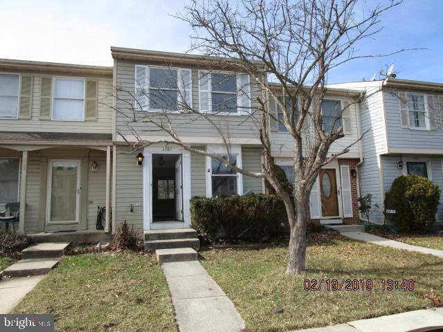 3587 Laurel View Court, LAUREL, MD 20724 (#MDAA374678) :: The Maryland Group of Long & Foster Real Estate