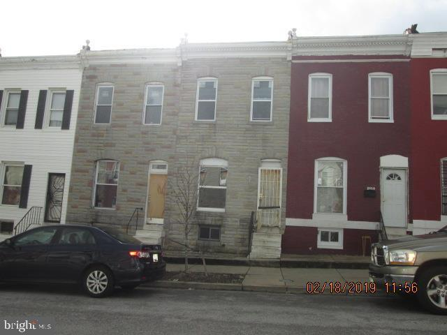 2557 W Fayette Street, BALTIMORE, MD 21223 (#MDBA437966) :: Great Falls Great Homes