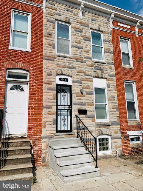446 N Patterson Park Avenue, BALTIMORE, MD 21231 (#MDBA464340) :: SURE Sales Group
