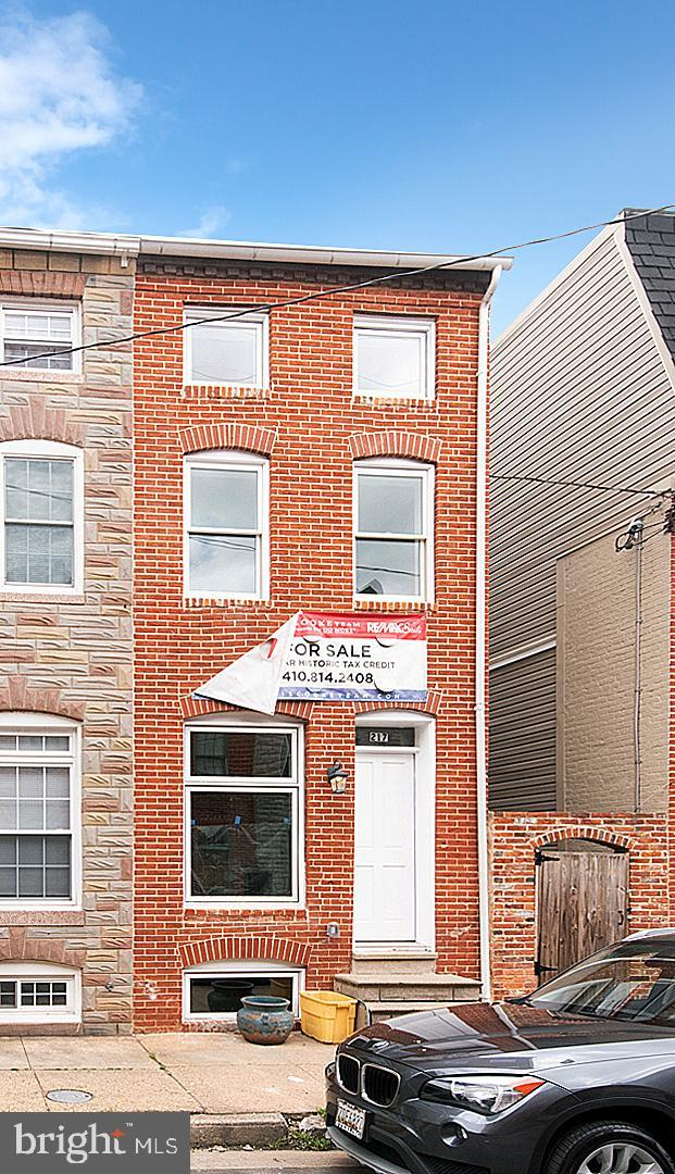 217 S Regester Street, BALTIMORE, MD 21231 (#MDBA465100) :: The Dailey Group