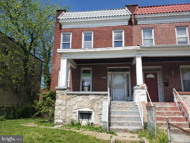 4002 W Rogers Avenue, BALTIMORE, MD 21215 (#MDBA465538) :: The Maryland Group of Long & Foster