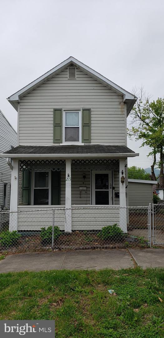 215 E Elder Street, CUMBERLAND, MD 21502 (#MDAL131526) :: ExecuHome Realty