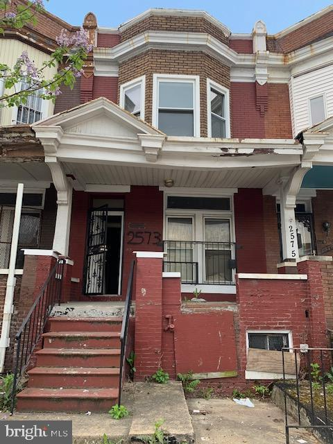 2573 Edmondson Avenue, BALTIMORE, MD 21223 (#MDBA467226) :: Eng Garcia Grant & Co.