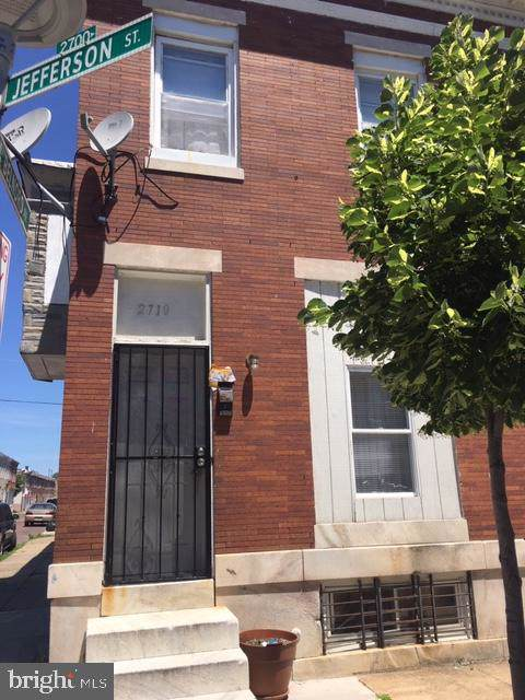 2710 Jefferson Street, BALTIMORE, MD 21205 (#MDBA469850) :: The Miller Team