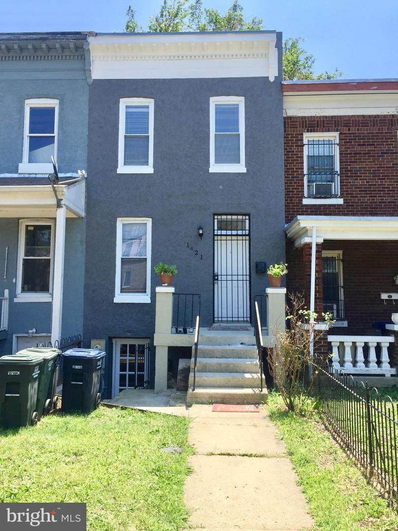 1421 Maryland Avenue NE A, WASHINGTON, DC 20002 (#DCDC430142) :: John Smith  Real Estate Group