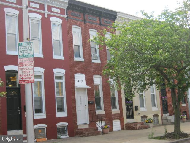 413 N Collington Avenue, BALTIMORE, MD 21231 (#MDBA472708) :: The Gold Standard Group
