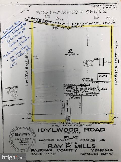 7131 Idylwood Road, FALLS CHURCH, VA 22043 (#VAFX1070896) :: The Gus Anthony Team