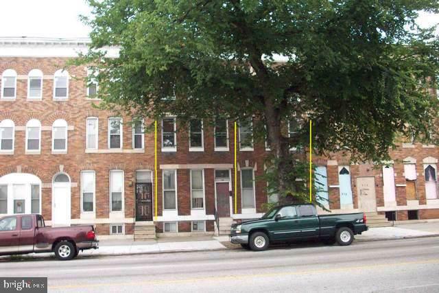 708 E North Avenue, BALTIMORE, MD 21202 (#MDBA476374) :: Lucido Agency of Keller Williams