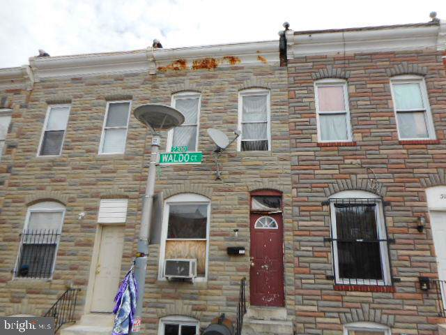 513 N Montford Avenue, BALTIMORE, MD 21205 (#MDBA478074) :: Radiant Home Group