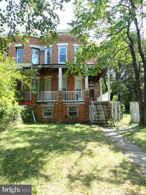3921 Park Heights Avenue, BALTIMORE, MD 21215 (#MDBA478770) :: Radiant Home Group