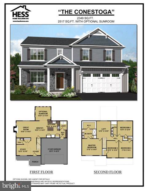 141 Carol Drive Lot #13, WASHINGTON BORO, PA 17582 (#PALA138202) :: The Craig Hartranft Team, Berkshire Hathaway Homesale Realty