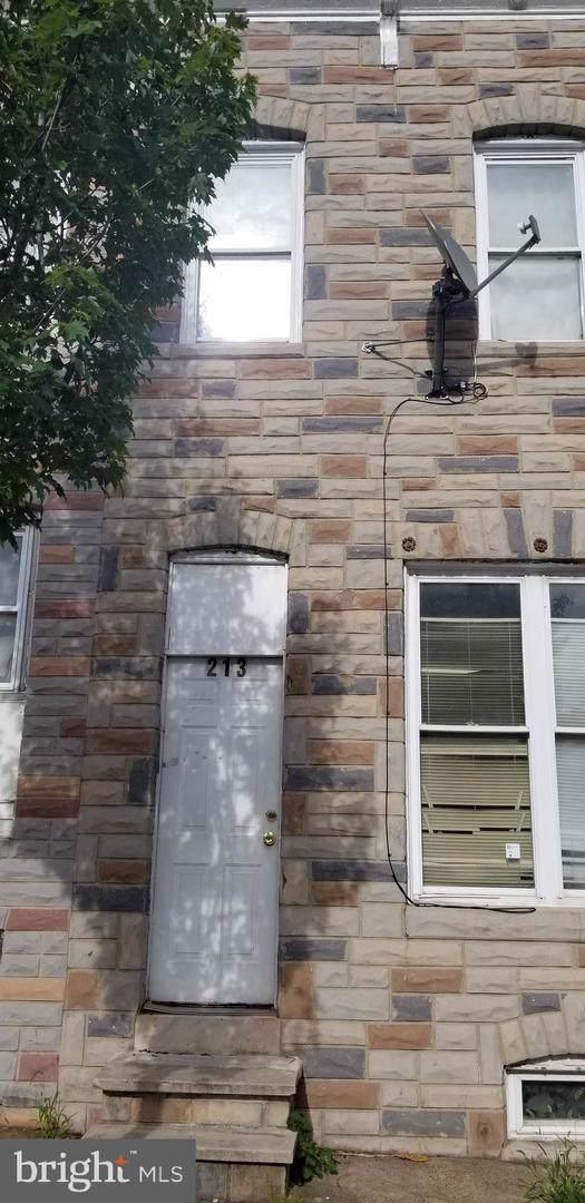 213 S Monroe Street, BALTIMORE, MD 21223 (#MDBA482540) :: Corner House Realty