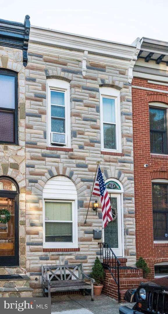 1443 Henry Street, BALTIMORE, MD 21230 (#MDBA484150) :: The Licata Group/Keller Williams Realty