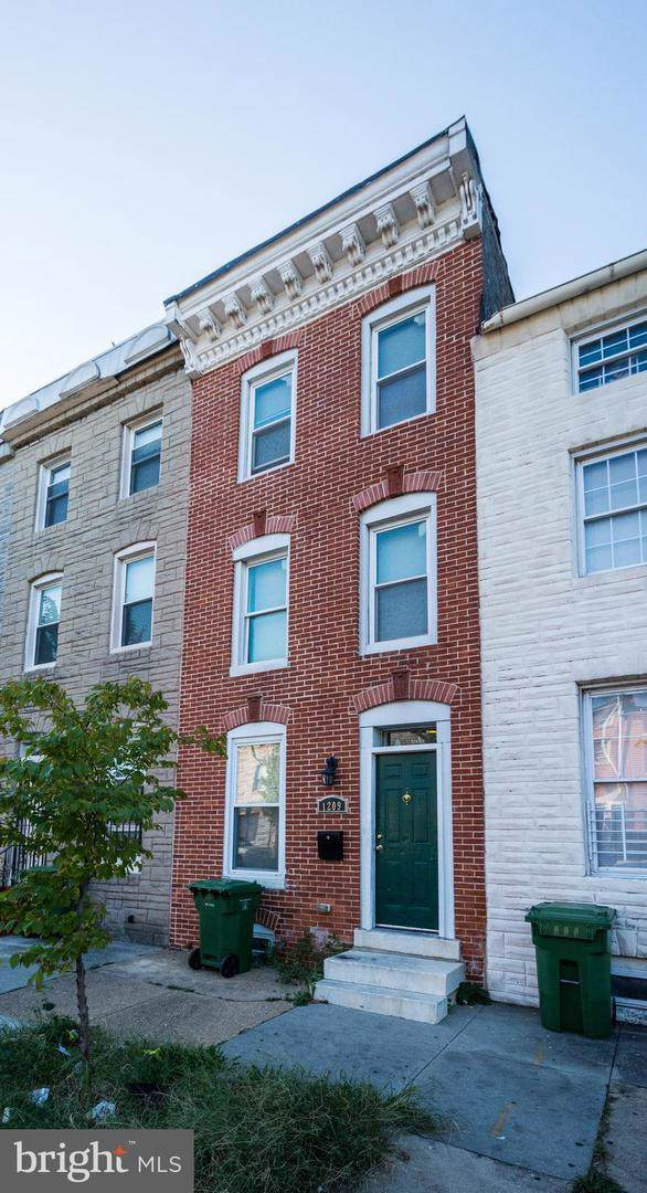 1209 W Lombard Street, BALTIMORE, MD 21223 (#MDBA485416) :: The Vashist Group