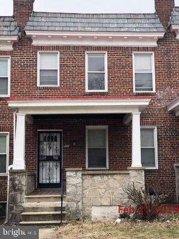 1408 North Rosedale Street N, BALTIMORE, MD 21216 (#MDBA488506) :: AJ Team Realty
