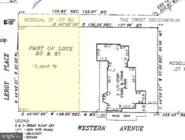 0 Western Avenue, BETHESDA, MD 20816 (#MDMC684826) :: Blackwell Real Estate
