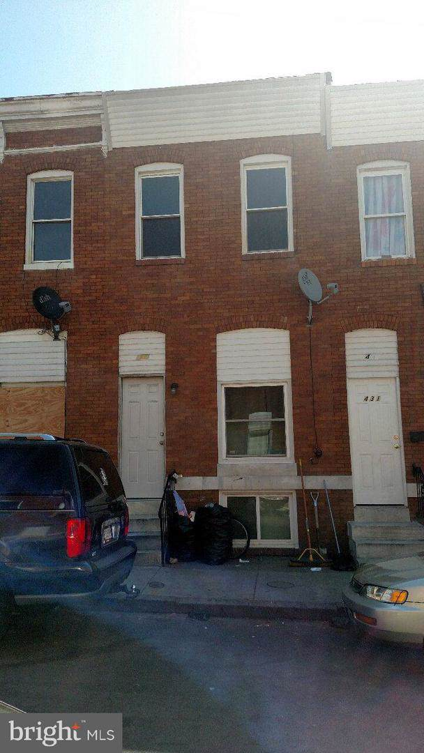433 N Curley Street, BALTIMORE, MD 21224 (#MDBA490070) :: The Bob & Ronna Group