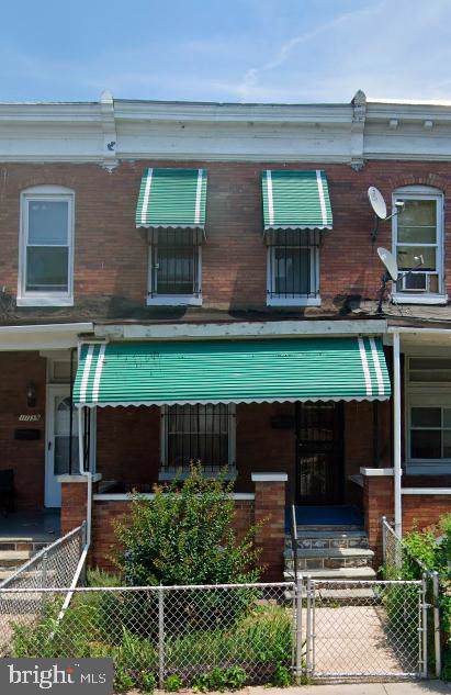 1135 Ashburton Street, BALTIMORE, MD 21216 (#MDBA491202) :: Remax Preferred | Scott Kompa Group
