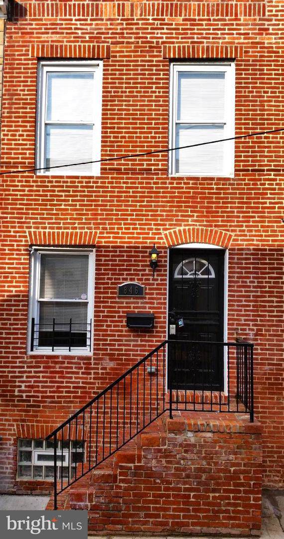 846 Reinhardt Street, BALTIMORE, MD 21230 (#MDBA492286) :: The Vashist Group