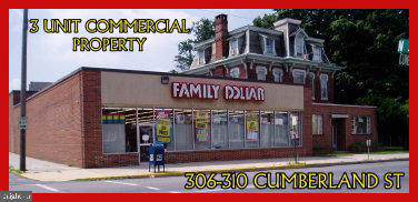 306-310 Cumberland Street, LEBANON, PA 17042 (#PALN110136) :: The Joy Daniels Real Estate Group