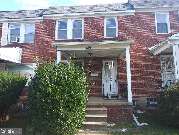 209 Denison Street, BALTIMORE, MD 21229 (#MDBA494352) :: The Maryland Group of Long & Foster