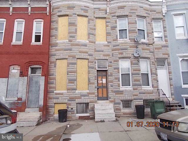 2036 Hollins Street, BALTIMORE, MD 21223 (#MDBA496578) :: The Vashist Group
