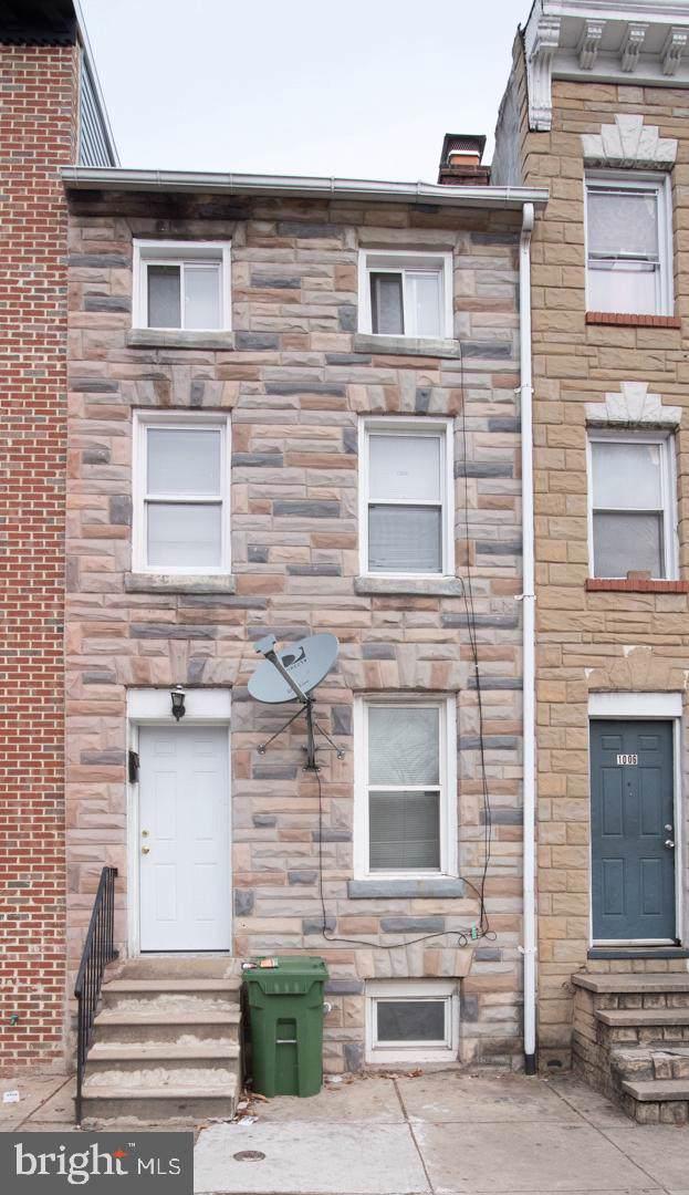 1008 W Lombard Street, BALTIMORE, MD 21223 (#MDBA496824) :: The Vashist Group