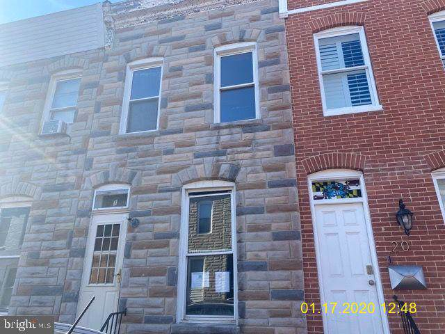 18 N Streeper Street, BALTIMORE, MD 21224 (#MDBA497758) :: The Maryland Group of Long & Foster