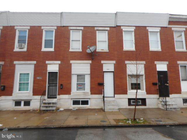 3110 E Monument Street, BALTIMORE, MD 21205 (#MDBA499268) :: The Vashist Group