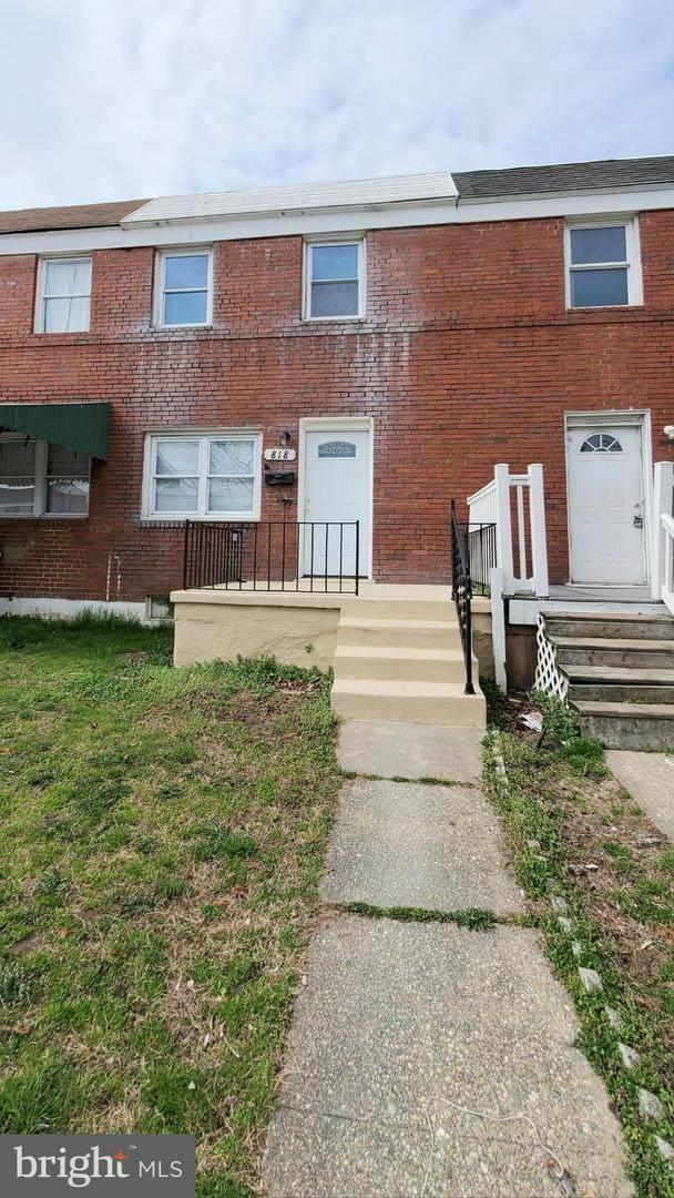 818 Mildred Avenue, DUNDALK, MD 21222 (#MDBC490232) :: Bob Lucido Team of Keller Williams Integrity
