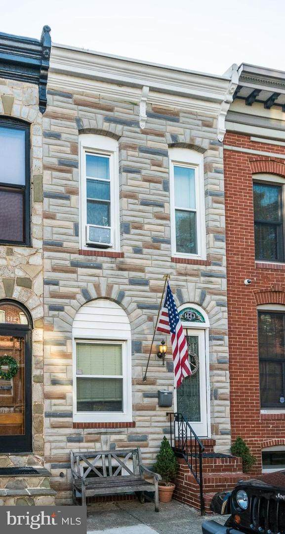 1443 Henry Street, BALTIMORE, MD 21230 (#MDBA506186) :: The Dailey Group