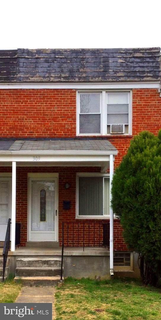 309 N Edgewood Street, BALTIMORE, MD 21229 (#MDBA506528) :: The Licata Group/Keller Williams Realty
