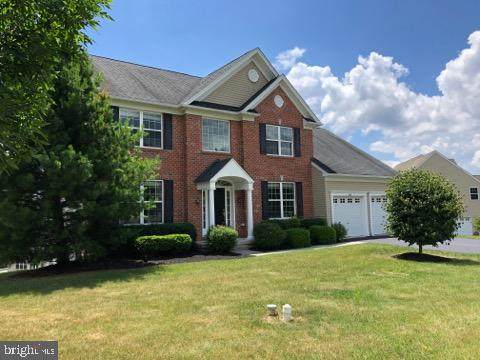 312 Dunbar Drive, COATESVILLE, PA 19320 (#PACT509626) :: Keller Williams Real Estate
