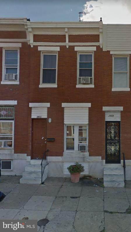 2911 E Monument Street, BALTIMORE, MD 21205 (#MDBA517292) :: The Schiff Home Team