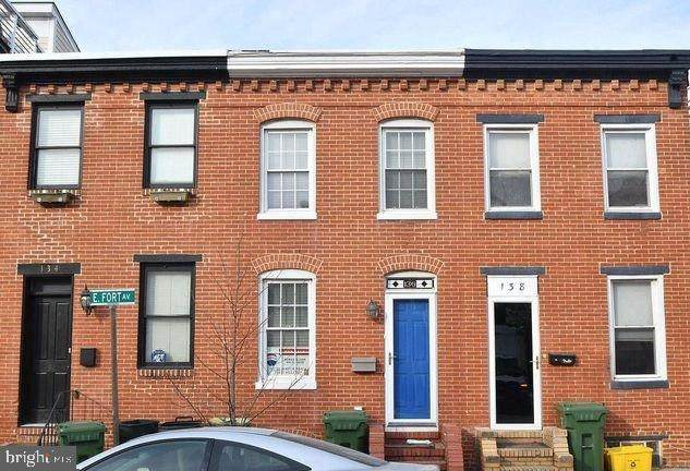 136 E Fort, BALTIMORE, MD 21230 (#MDBA523910) :: The Putnam Group