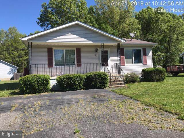111 Woodland Drive, INDIAN HEAD, MD 20640 (#MDCH217574) :: The Maryland Group of Long & Foster Real Estate