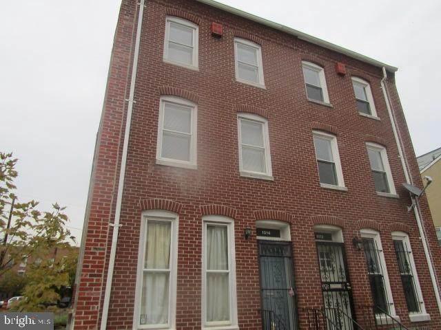 1014 W Fayette Street, BALTIMORE, MD 21223 (#MDBA525674) :: Coleman & Associates