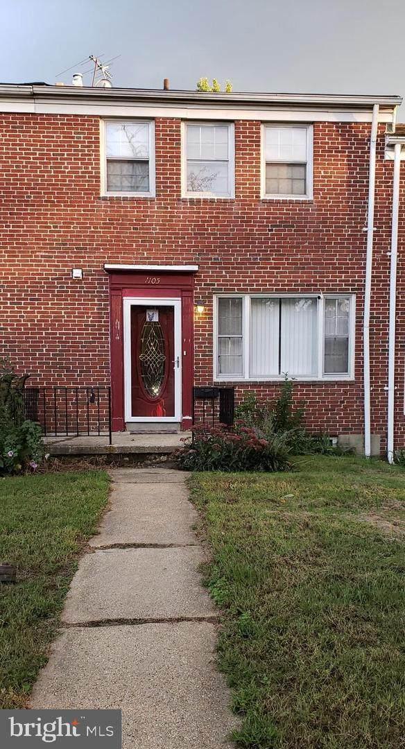 1105 Elbank Avenue, BALTIMORE, MD 21239 (#MDBA526126) :: Revol Real Estate