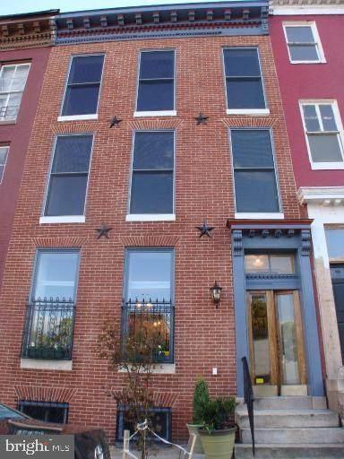 1721 Hollins Street, BALTIMORE, MD 21223 (#MDBA527668) :: Great Falls Great Homes